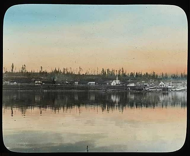 Green Lake, circa 1900, prior to the development of the park. Photo courtesy of MOHAI. Used with permission.
