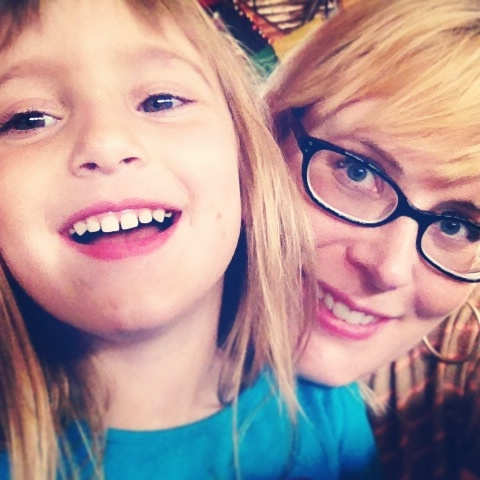 Amy and her youngest daughter, Skye.