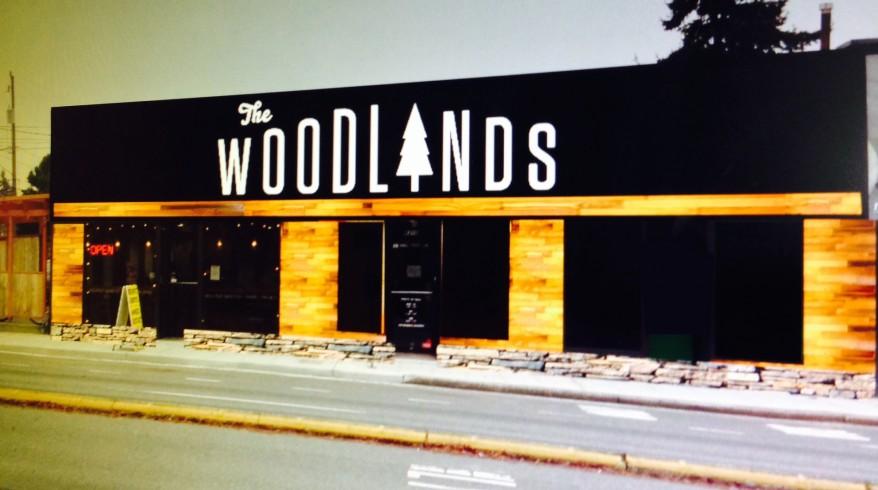 woodland mockup