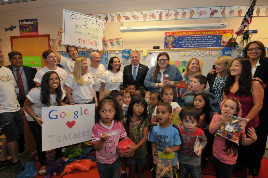 Googlers, class & Ed Murray
