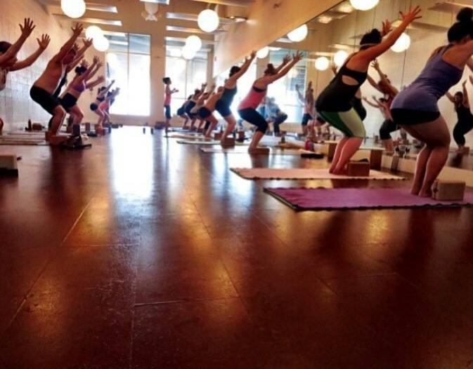 Photo courtesy of Modo Yoga Facebook page.