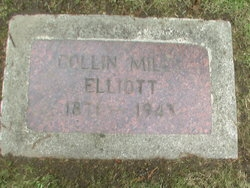 Collin Miles Elliott findagrave