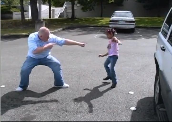 Dancing Green Lake Dad