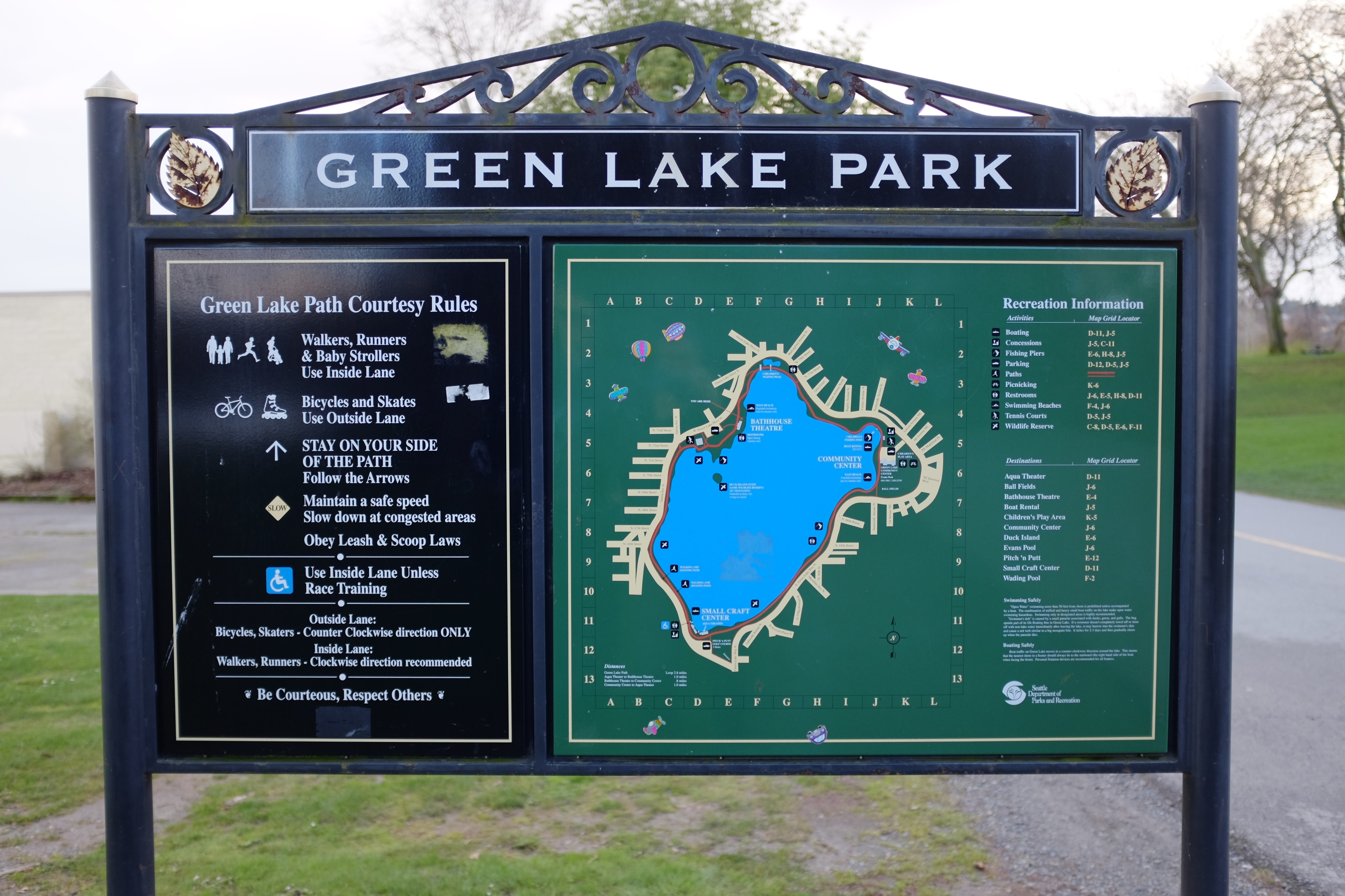 Seattle Greenlaker The Seattle Parks District And What