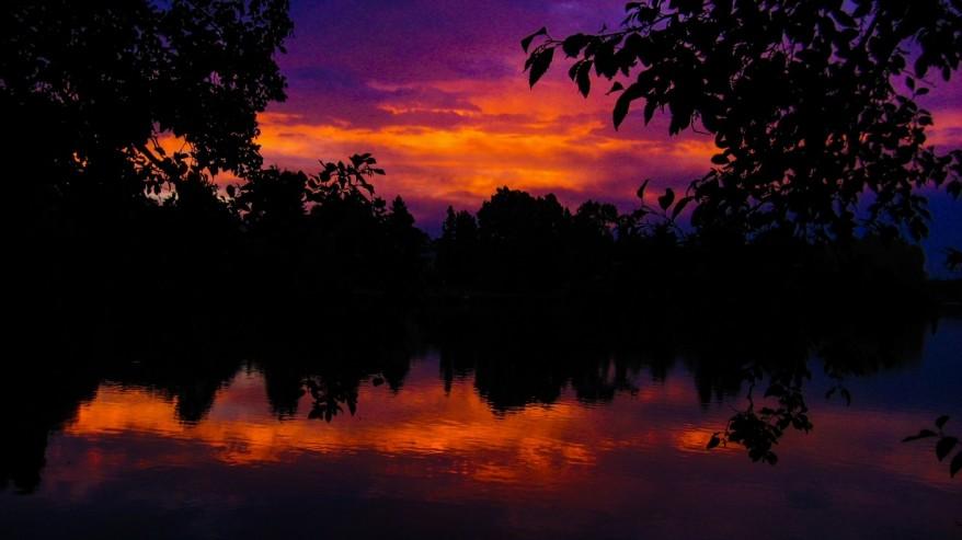 Autumn Daybreak by Dustin Guy