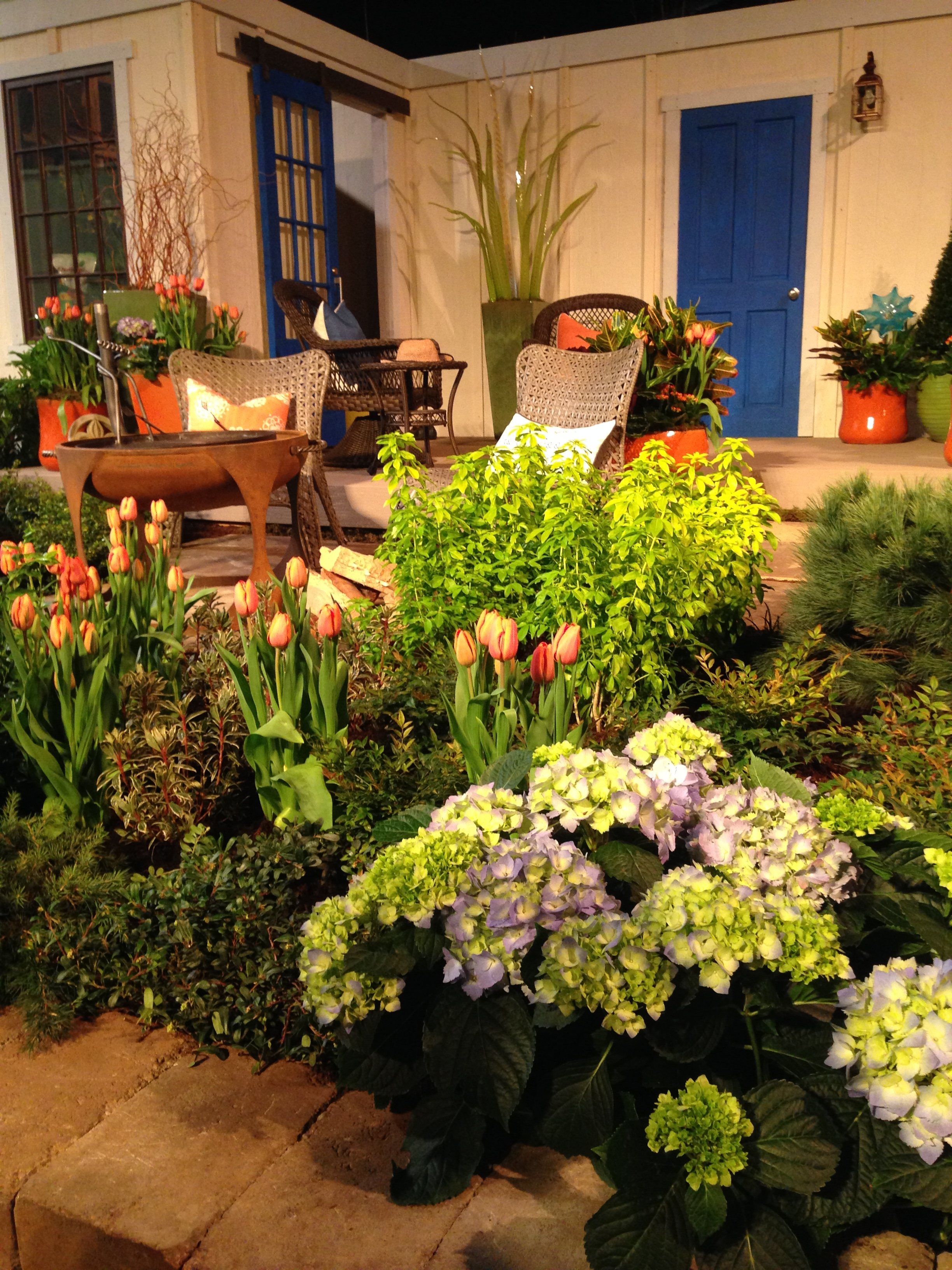 love the space youre in by susan browne northwest flower garden show - Northwest Flower And Garden Show