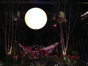 """""""Over the Moon"""" Garden display, Northwest Flower & Garden Show 2014,  Photo: Erica Grivas"""