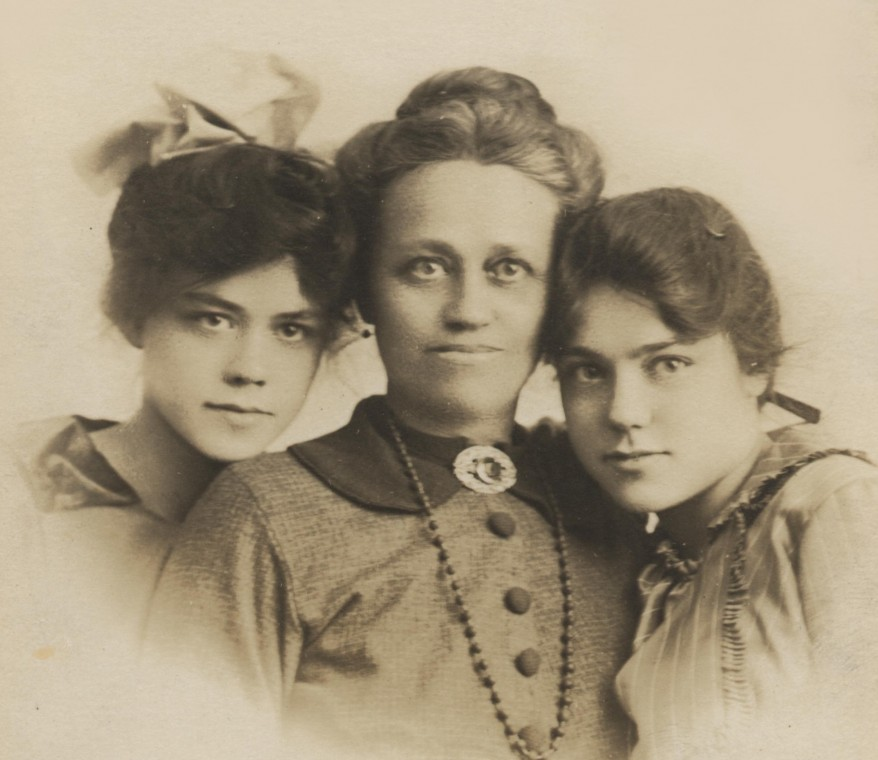Alice and her daughters, Courtesy of the author