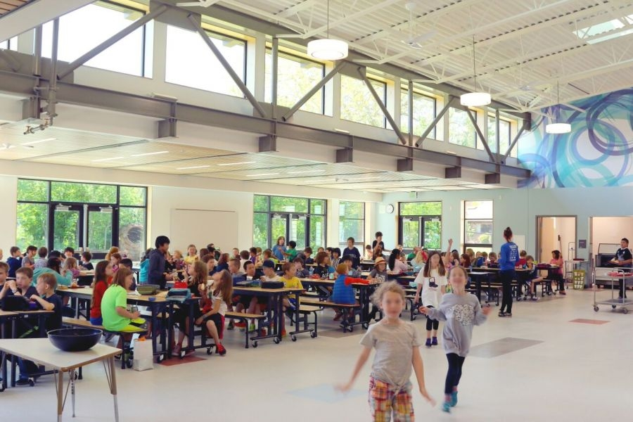 Seattle Greenlaker Green Lake Elementary S New Green Cafeteria News Culture And Lifestyle