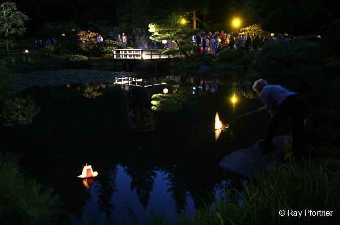 Moon Viewing, 2012 Japanese Garden, Seattle, WA RayPfortner.com