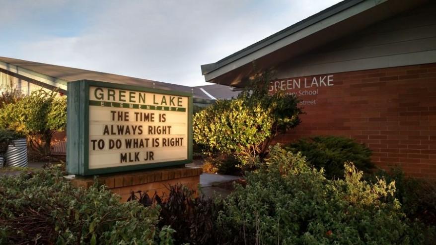 via Green Lake Elementary