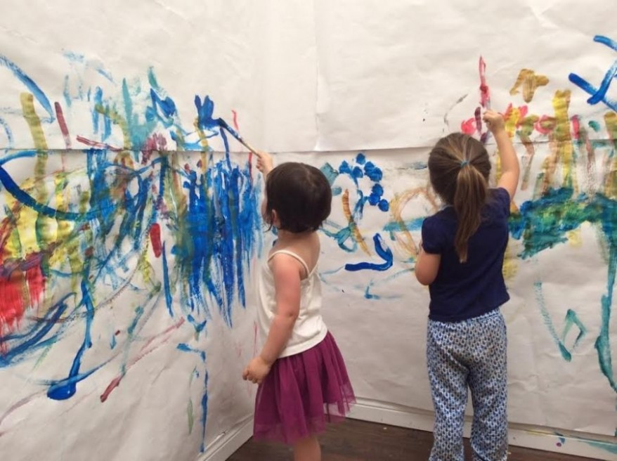 seattle greenlaker art soul studios mixed media parent child art
